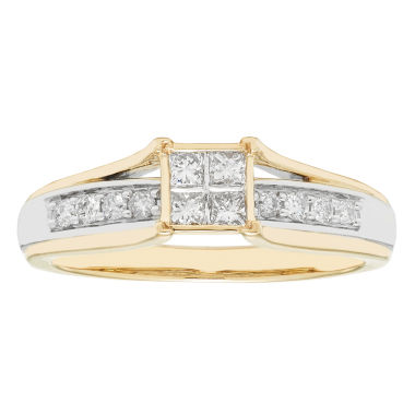 jcpenney.com | Womens 10K 1/3Ct Ring