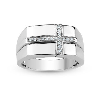 jcpenney.com | Mens White Sapphire Band