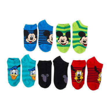 jcpenney.com | Boys 5-Pk. Mickey Mouse No Show Socks