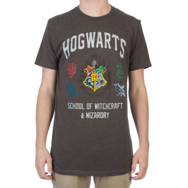 jcpenney.com | Short Sleeve Hogwarts Crest Graphic T-Shirt