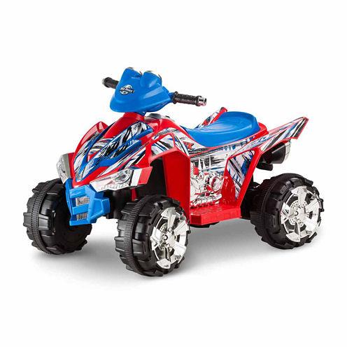 KidTrax ATV Quad KT670AZ 6V Electric Ride-on