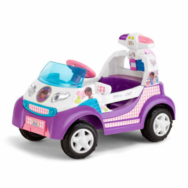 jcpenney.com | KidTrax Doc McStuffins Toy Ambulance 6V Electric Ride-on