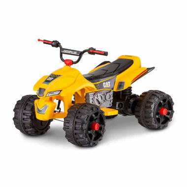 jcpenney.com | KidTrax Caterpillar CAT ATV Quad 12V Electric Ride-on