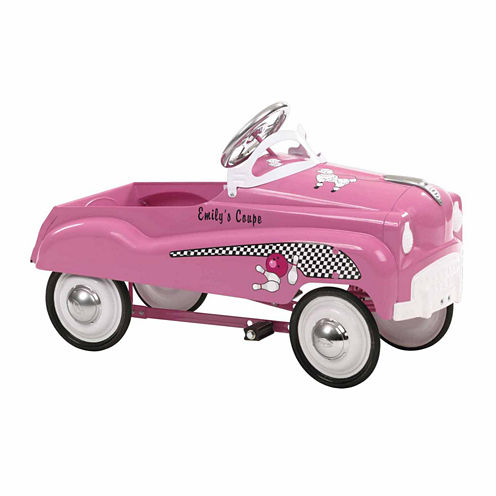 InSTEP Pink Lady Street Rod Pedal Car