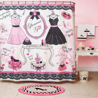 jcpenney.com | Glamour Girl Shower Curtain