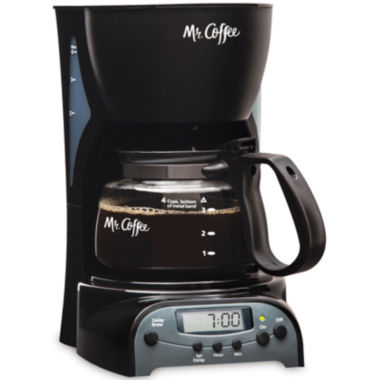 jcpenney.com | Mr. Coffee® Simple Brew 4-Cup Programmable Coffee Maker