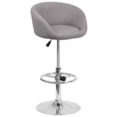 jcpenney.com | Fabric Adjustable Bar Stool