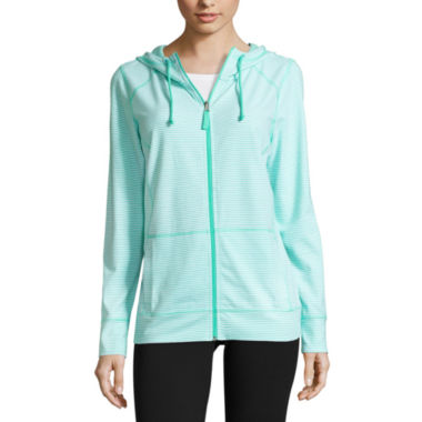 jcpenney.com | Made For Life Long Sleeve Knit Stripe & Dot Hoodie
