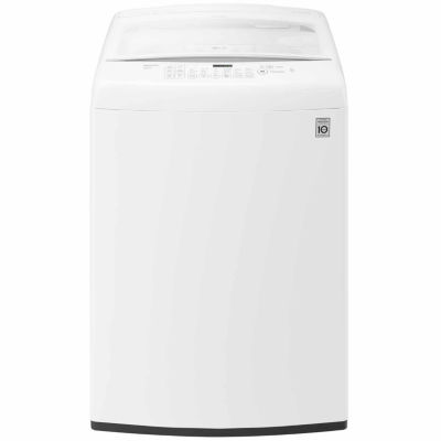 Lg Energy Star®  4.5 Cu. Ft. Ultra Large Capacity High Efficiency Top Load Washer With Front Control Design by Lg