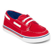 Okie Dokie®  Boys Skip Boat Shoes - Toddler
