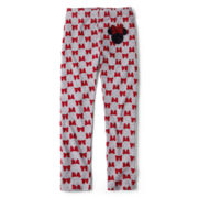 Minne Mouse Bow Dots Leggings