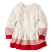 Little Maven™ by Tori Spelling Sweater Dress - Girls 12m-5y