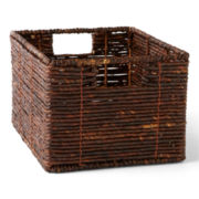CLOSEOUT! Michael Graves Design Natural Storage Basket