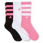 adidas® 3-pk. Retro Crew Socks