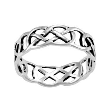 jcpenney.com | Silver-Plated Cutout Band Ring