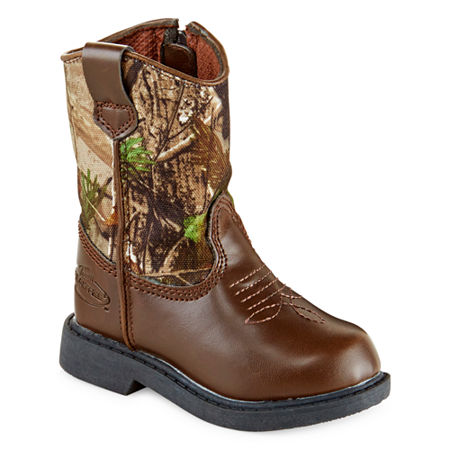 Realtree Dustin Boys Camo Boots - Toddler