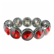 Mixit™ Hematite Red Stretch Bracelet