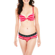 Flirtitude® Twice As Nice Pushup Bra or Boykini Panties