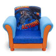 How To Train Your Dragon Upholstered Chair