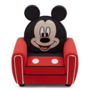Disney Mickey Figure Upholstered Chair