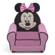 Disney Minnie Figure Upholstered Chair