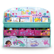 Dora Deluxe Book & Toy Organizer