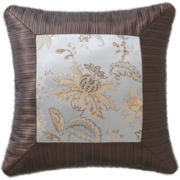 "Marquis by Waterford® Cameron 18"" Square Decorative Pillow"