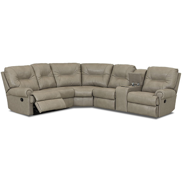 Midori 6 Pc Leather Power Reclining Sectional Sofa: Brinkley 5 Pc Leather Power Reclining Motion Sectional
