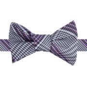 IZOD® Dressy Plaid Self-Tie Bow Tie