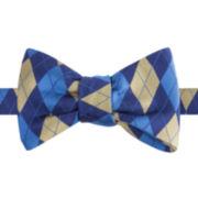 IZOD® High School Argyle Pre-Tied Bow Tie