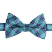 IZOD® Recess Plaid Self-Tie Bow Tie