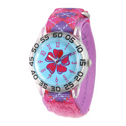 Red Balloon™ Girls Pink Plastic Strap Watch