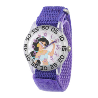 jcpenney.com | Disney® Girls Purple Jasmine Strap Watch