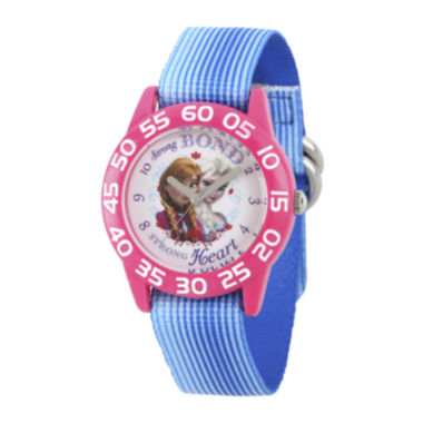 jcpenney.com | Disney® Frozen Girls Blue Strap Watch