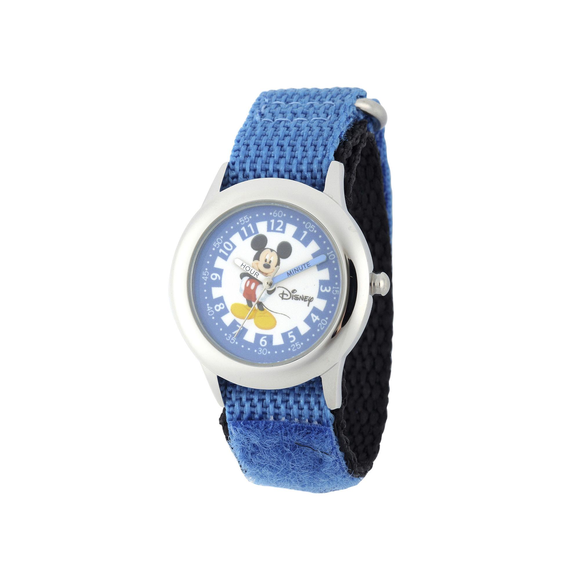 Disney Mickey Mouse Boys Blue Strap Watch