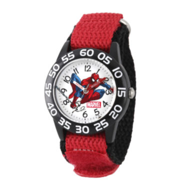 jcpenney.com | Marvel® Spiderman Boys Red Strap Watch