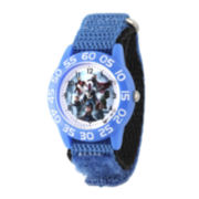 Marvel® Avengers Boys Blue Strap Watch