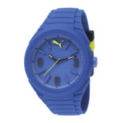 Puma® Unisex Gummy Blue Watch PU103592003
