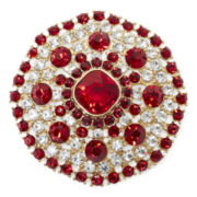 Monet® Red Crystal Pin
