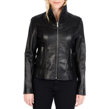 jcpenney.com | Excelled® Lambskin Scuba Jacket