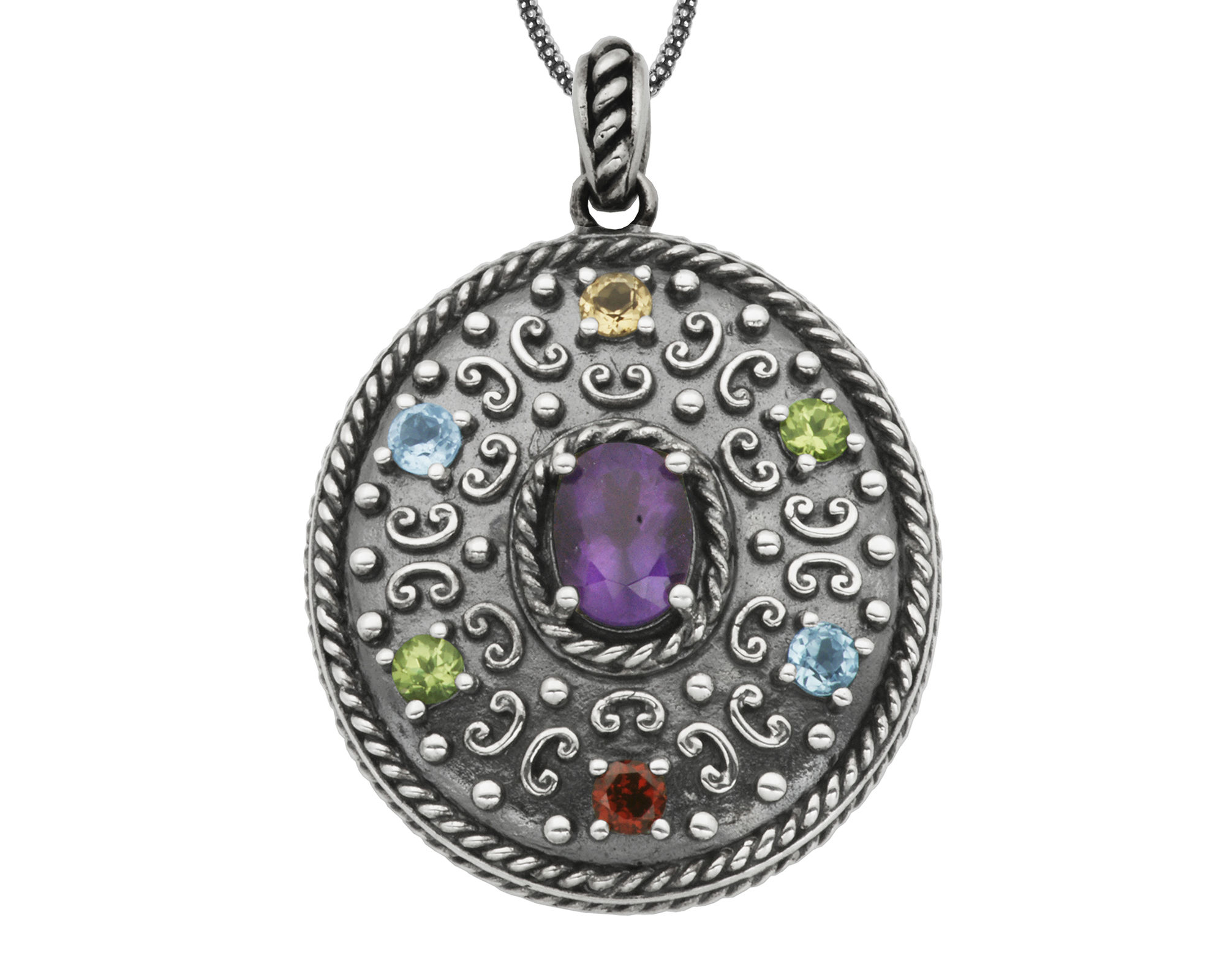 how to clean sterling silver with gemstones