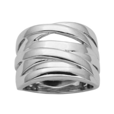 jcpenney.com | Sterling Silver Crisscross Ring
