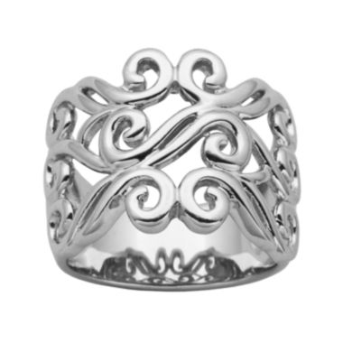 jcpenney.com | Sterling Silver Filigree Ring