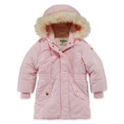 OshKosh B'Gosh® Hooded Coat  - Girls Toddler 2t-4t