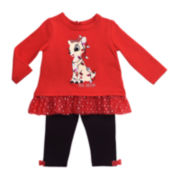 Rudolph the Red-Nosed Reindeer Clarice 2-pc. Set - Baby Girls 3m-12m