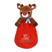 Rudolph Red-Nosed Reindeer Snuggle Buddy Plush Toy