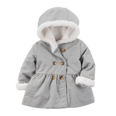 Carters Baby Girls Sherpa Jacket Baby