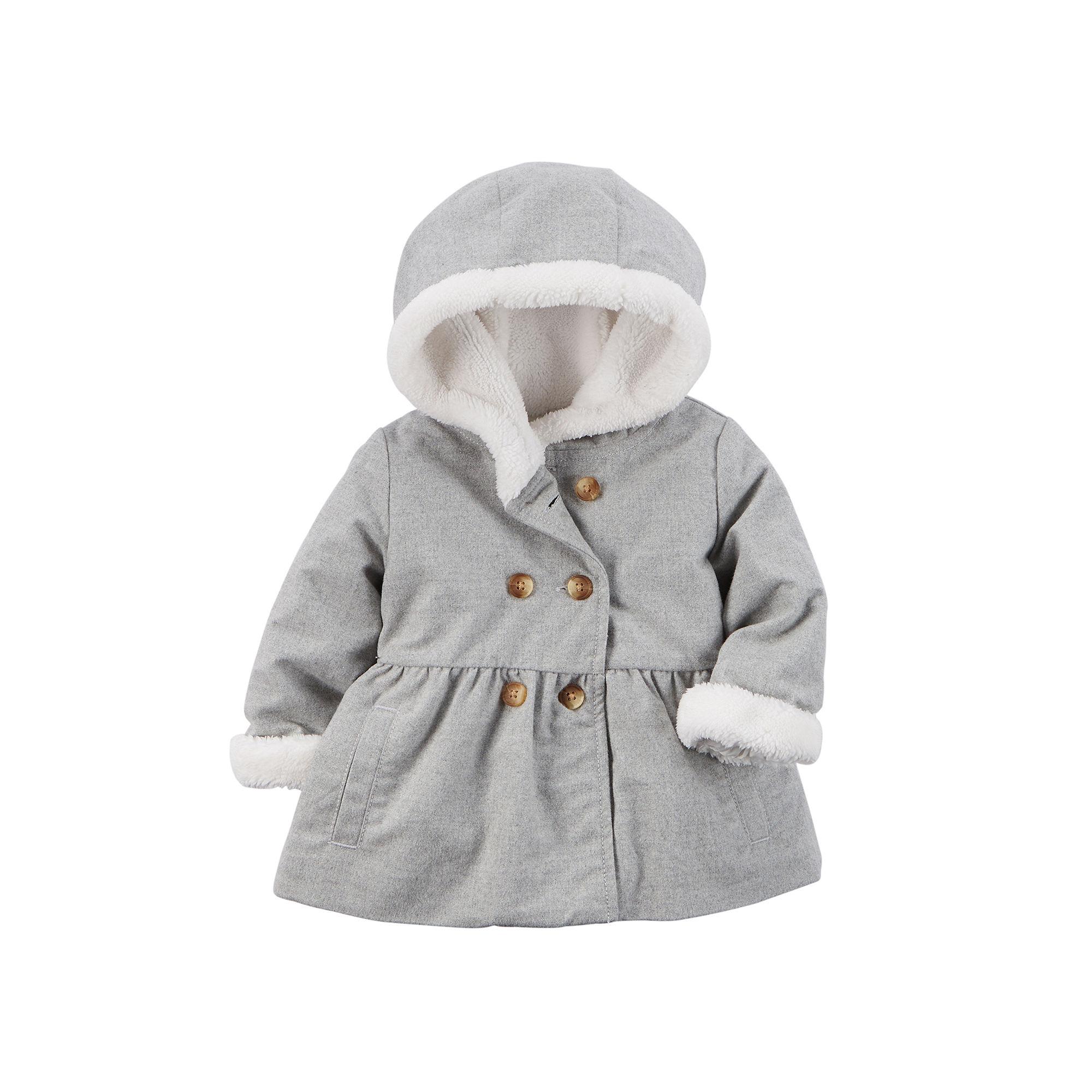 5d70b24b61b9 UPC 888510966166 - Carter s Sherpa-Lined Jacket - Baby Girls newborn ...
