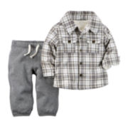Carter's® Shirt and Pull-On Pants - Baby Boys newborn-24m