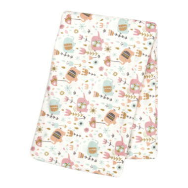 jcpenney.com | Trend Lab® Playful Elephants Deluxe Swaddle Blanket